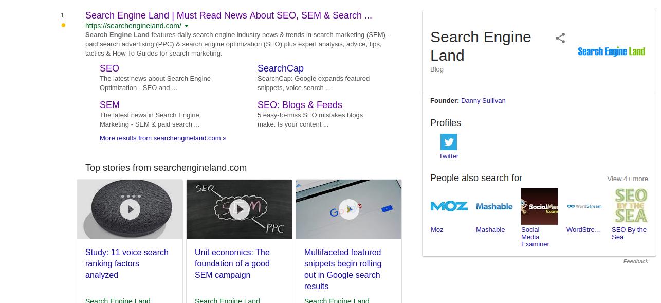Google Breadcrumbs
