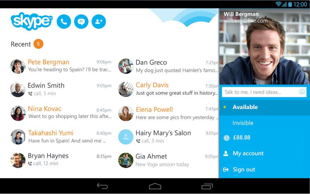 Skype-free IM & video calls