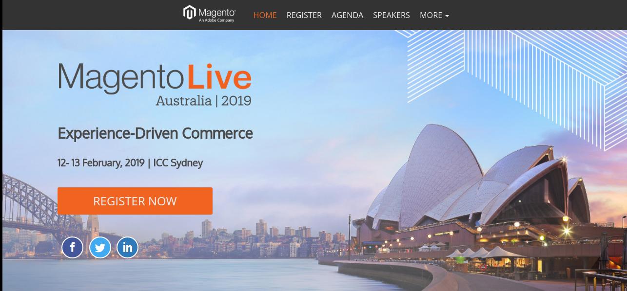 Home MagentoLive Australia 2019
