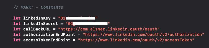Screenshot example of callBackURL
