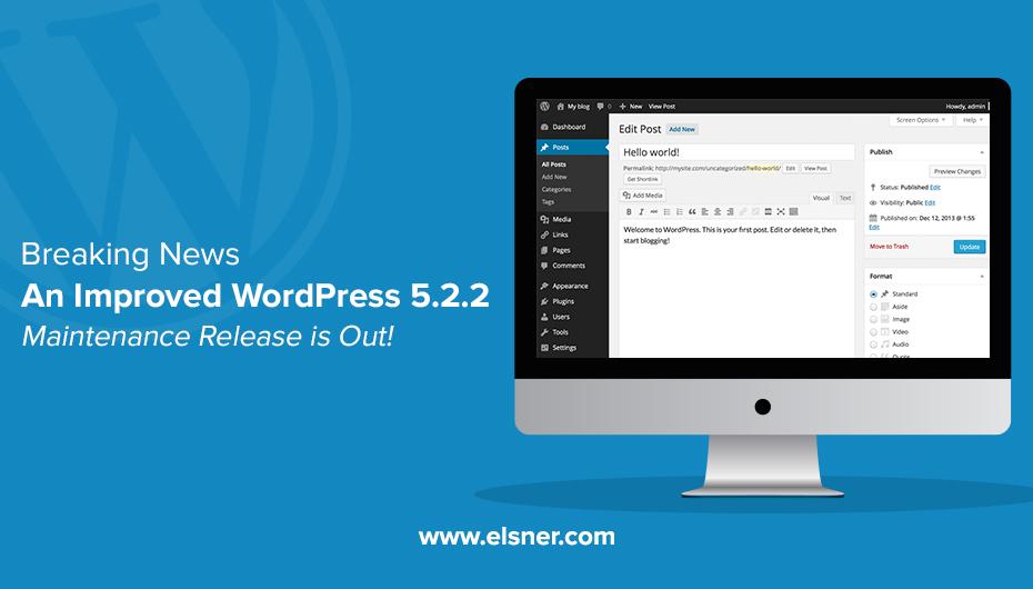 WordPress 5.2.2 Maintenance