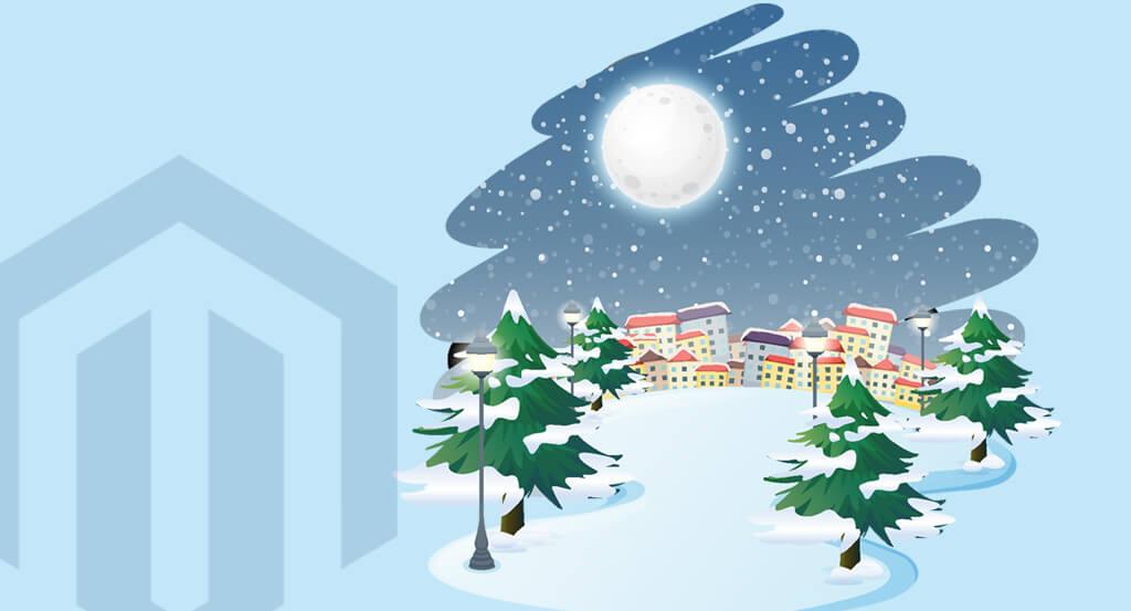 Christmas Snowfall Effects Magento 2