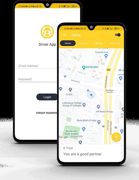Taxi-app-mainscreen