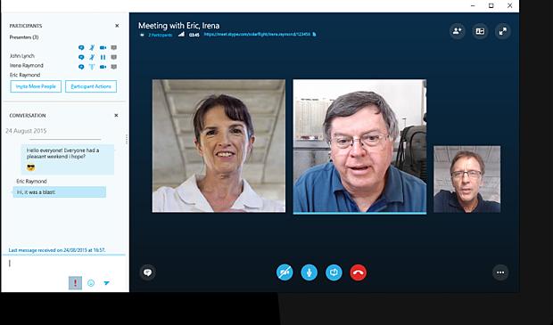 Skype Video Conferencing App