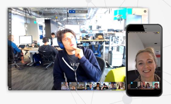 Jitsi video conferencing app