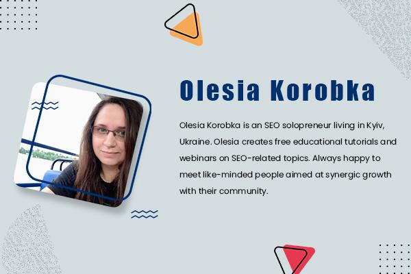 9. Olesia Korobka